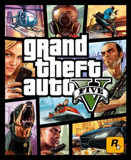 GTA V cover groot