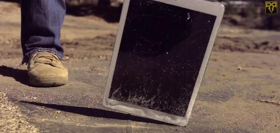 iPad Air crashtest