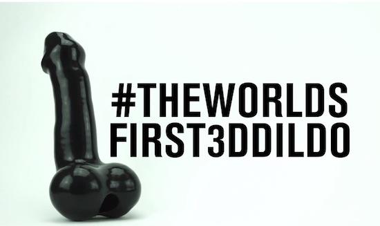 Dildo uit 3D printer