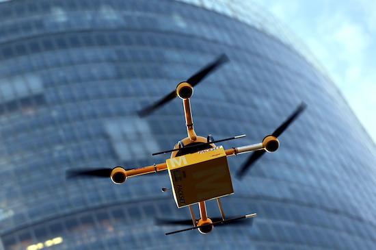 Deutsche Post experimenteert met bezorging via drones