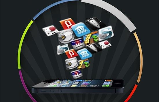 Top 16: de allerduurste iPhone-apps [infographic]