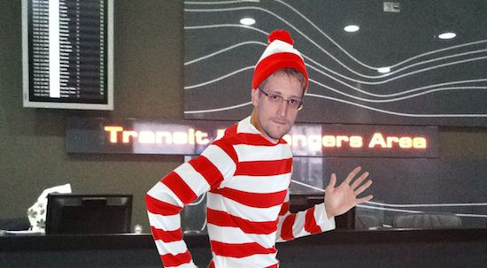 Where the f#ck is Snowden?
