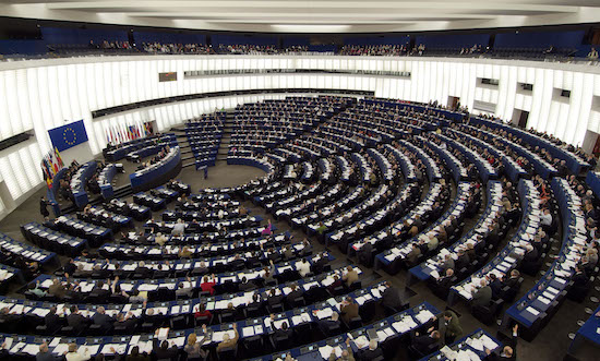 Europees Parlement downloadt massaal films