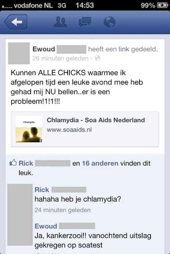 De tien domste Facebook-statussen van Nederland