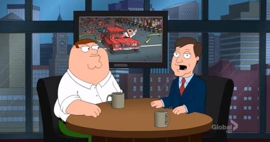 Family Guy-aflevering over Boston Marathon geschrapt