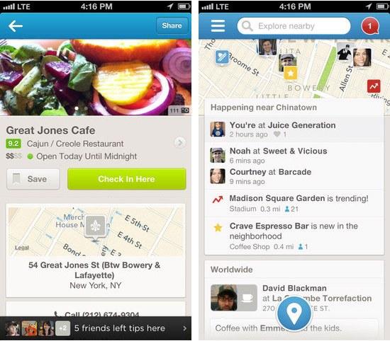 Foursquare v6