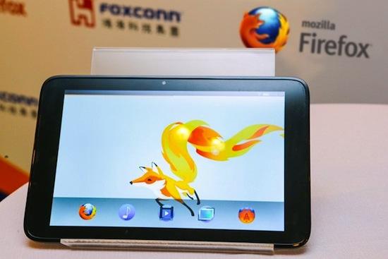 Mozilla Foxconn OS