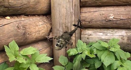 Garden Defender: vermoord wespen met een helikoptertje