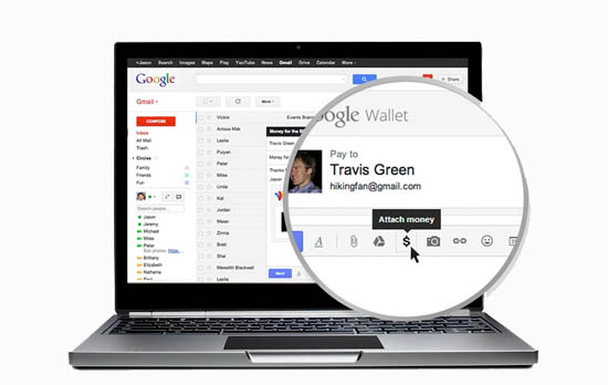 Geld versturen en ontvangen met Gmail en Google Wallet