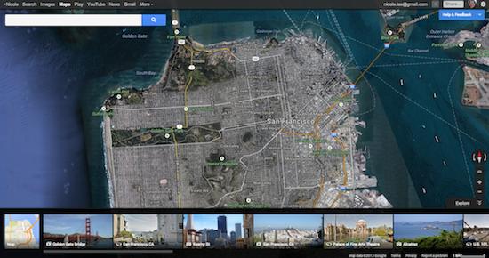 Nieuwe Google Maps