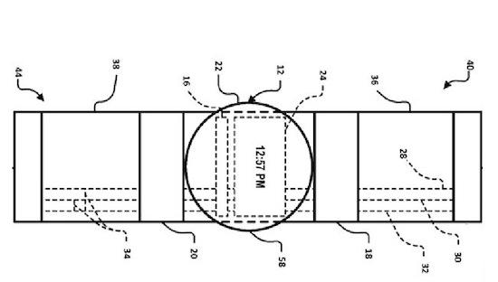 Google-patent toont smartwatch met twee aanraakschermen
