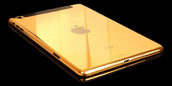 Gouden iPad