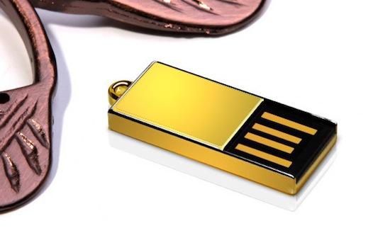 Gouden USB-stick