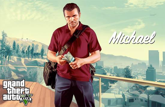 Grand Theft Auto V - Michael