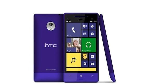 De HTC 8XT, een naam om te vergeten, maar hij ziet er fraai uit