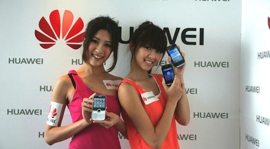 Huawei-meisjes, die doen sowieso nooit iets verkeerd