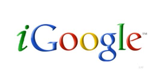 iGoogle stop