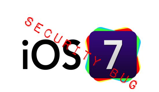 iOS 7 security bug
