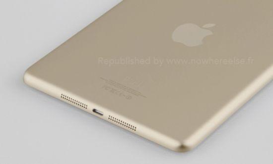 iPad Mini 2 champagne met Touch ID