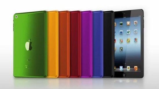 iPad kleurtjes