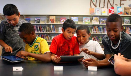 iPad school LA