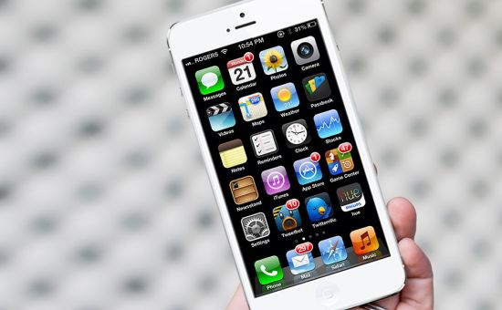 iPhone 5 inch mockup
