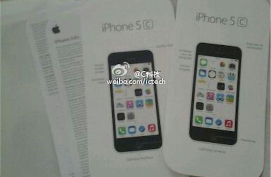 iPhone 5C handleiding