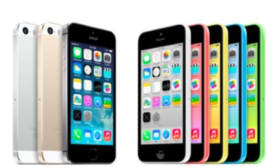 iPhone 5s & 5c verkooprecord
