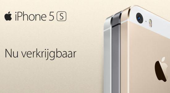 iPhone 5s & iPhone 5c verkrijgbaar in Nederland