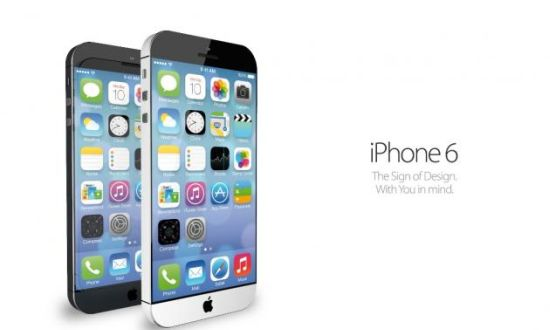 iPhone 6 in mei 2014