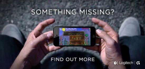 iPhone Logitech gamecontroller teaser