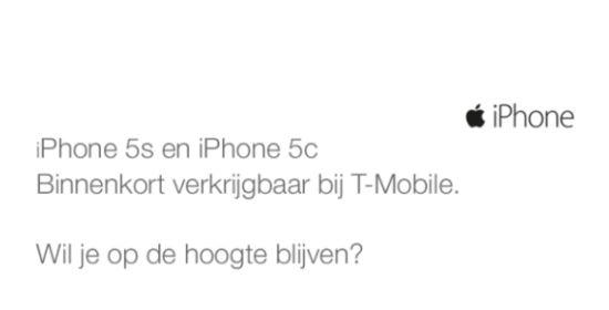 iPhone verkrijgbaar bij T-Mobile
