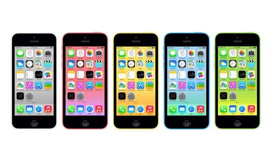 De iPhone 5C