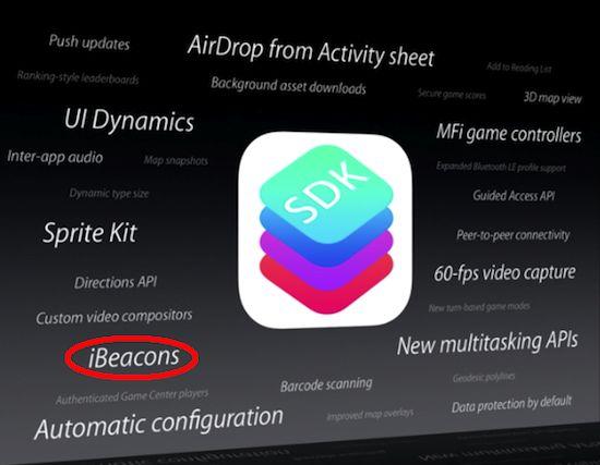 Apple kiest voor iBeacon