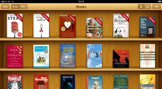 iBooks te duur