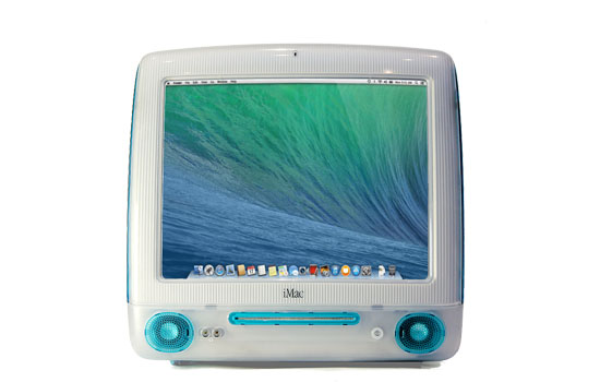 iMac G3 met Mavericks
