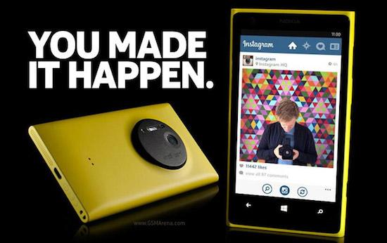 Instagram voor Windows Phone