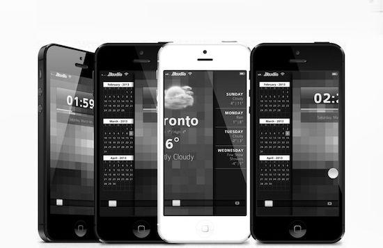 'iOS 7 krijgt een zwart-wit uiterlijk