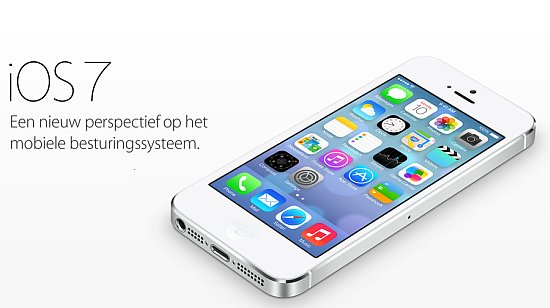 iPhone met iOS 7
