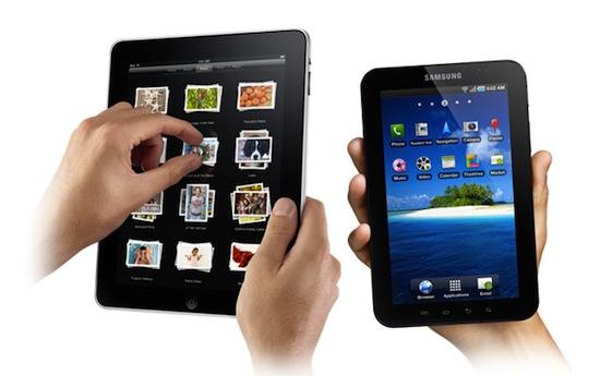 Aandeel iPad daalt