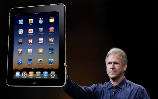 Apple test iPad Maxi (12,9 inch) met ultra HD-resolutie