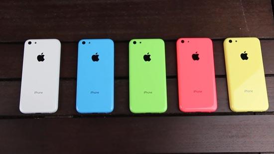 iPhone 5C minder populair dan 5S