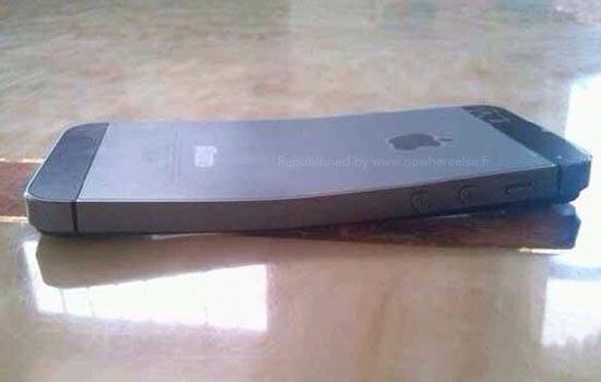 Een gebogen iPhone 5S
