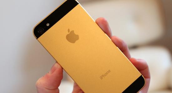iPhone 5S goud