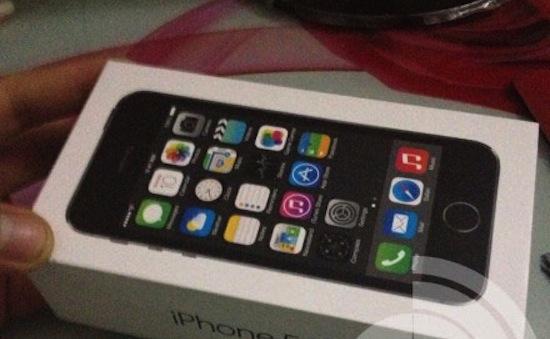Hier, de iPhone 5S met vingerafdrukscanner