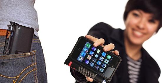 Iphone zakmes hoesje