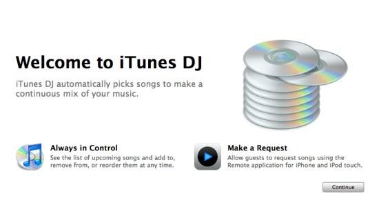 iTunes DJ