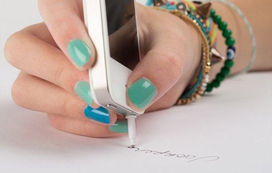 Gebruik je iPhone als pen