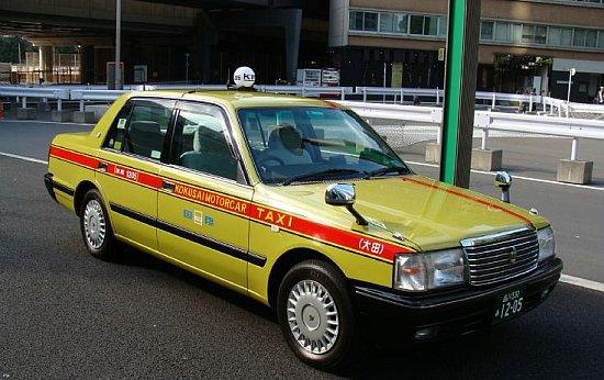 Japanse taxi