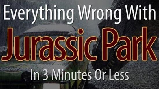 Jurassic Park fouten
